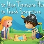 Here's How to Use Treasure Hunts to Teach Scripture