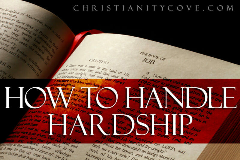 how to handle hardship