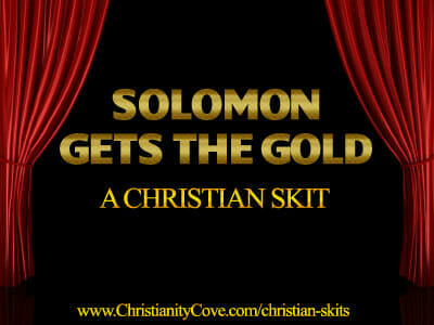 Christian Skits – Solomon Gets The Gold