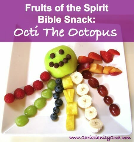 Fruits of the Spirit Activity for Kids: Octi the Octopus
