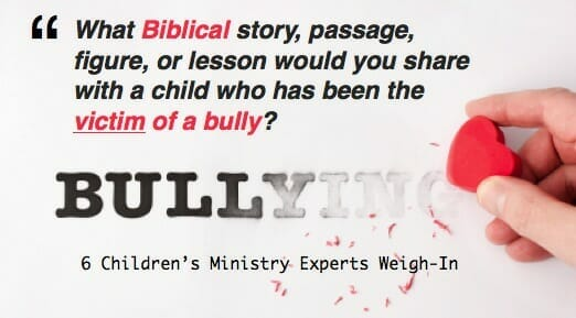 bullying bible lesson