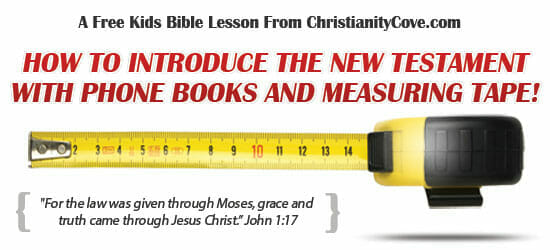 """""""What's The New Testament?"""" – A Kids Bible Lesson"""