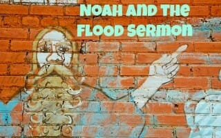 noah and the flood sunday school lesson