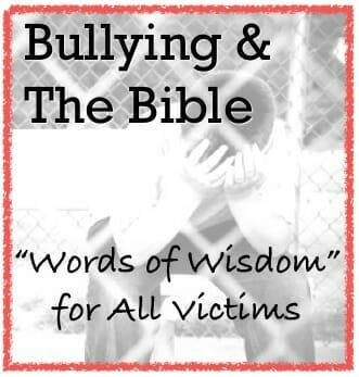 Bullying and the bible how to help bully victims christianity cove bullying publicscrutiny Choice Image