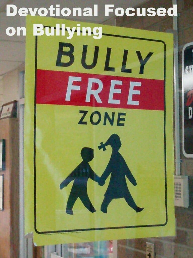 Children's Devotional Dealing with Bullies