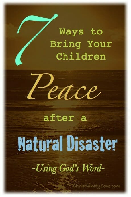 How To Help Children Cope With Natural Disaster