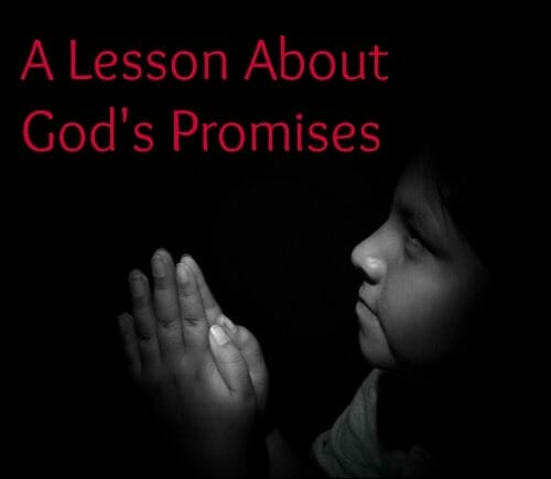 gods promises sunday school lesson