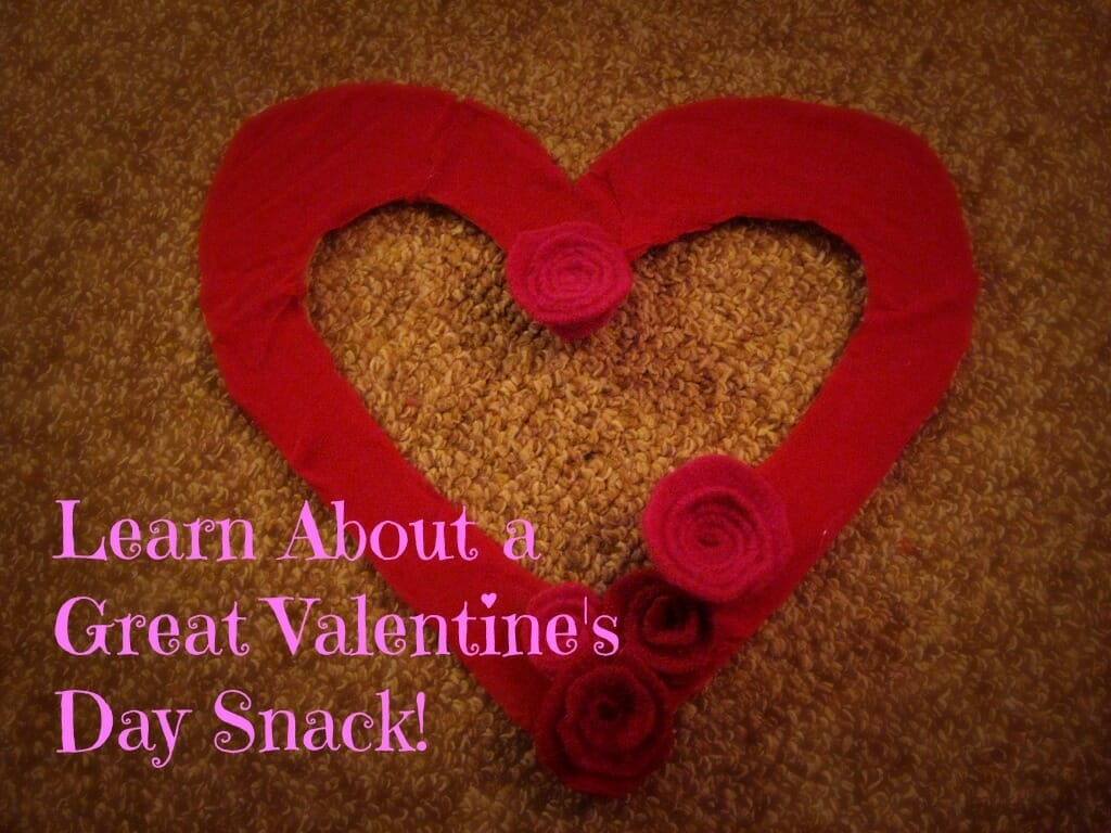 Great Valentine's Day Snack for Your Sunday School Class
