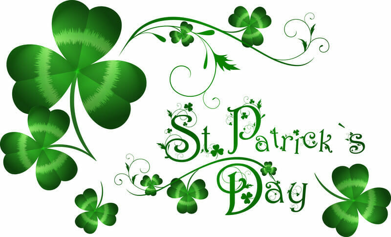 St Patrick S Day Background Vector Image 112325 Rfclipart