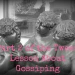 bible activity about gossip