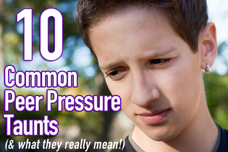 Sunday School Lesson for Tweens: Peer Pressure – Part 1
