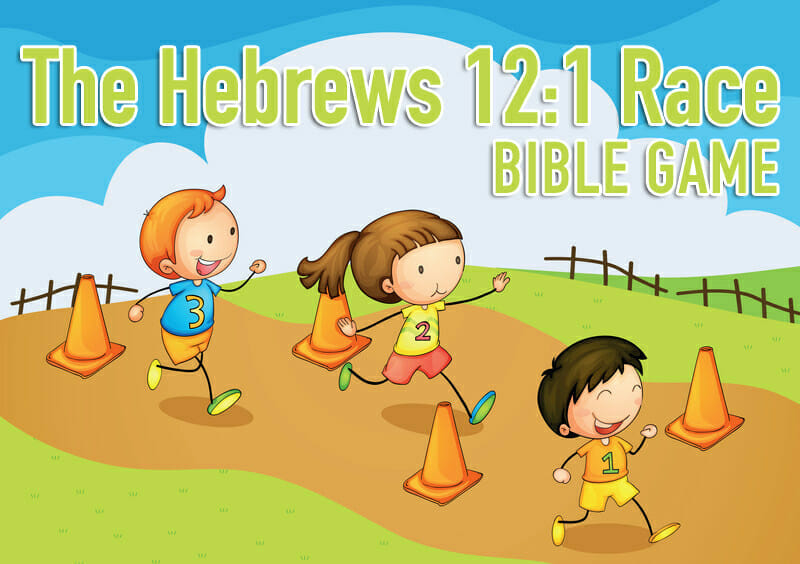 Bible Game: The Hebrews 12:1 Race