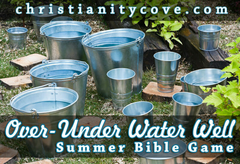 water well bible game