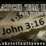 "Fall Bible Game: Match ""˜Em Up"