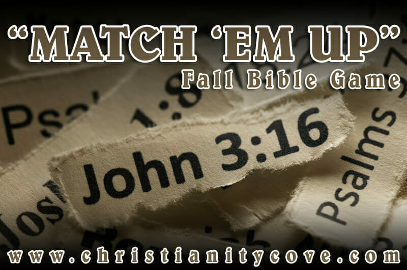fall bible game