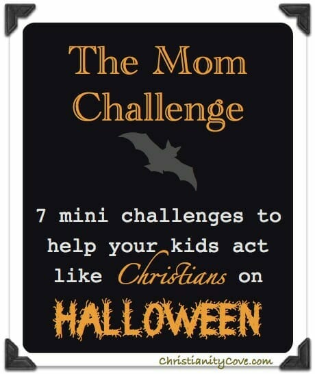 Christian Halloween Mom Challenge