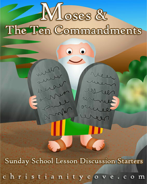 ten comandments sunday school lessons