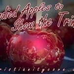 Fall Bible Snack: Candied Apples to Show the Trinity