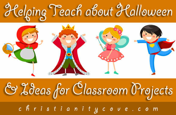 Helping Teach about Halloween & Ideas for Classroom Projects