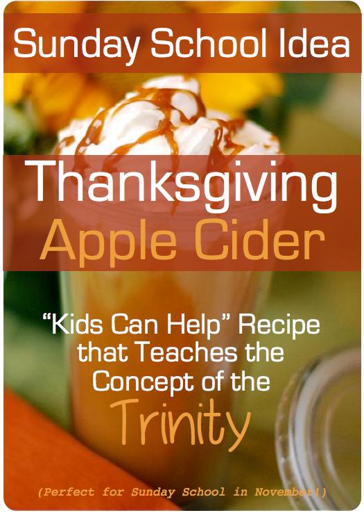 Thanksgiving Sunday School Idea