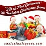 gift of kind comments christmas game