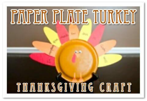 """Paper Plate Turkeys"" Thanksgiving Craft"