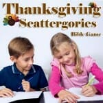 thanksgiving bible game scattergories