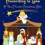 10 minute christmas skit