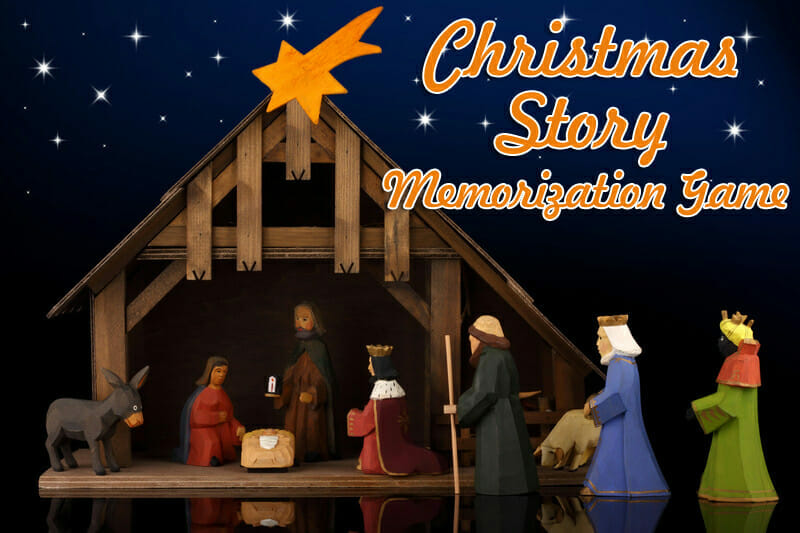 """Christmas Story Memorization"" Christmas Game"