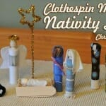 christmas craft clothespin nativity scene