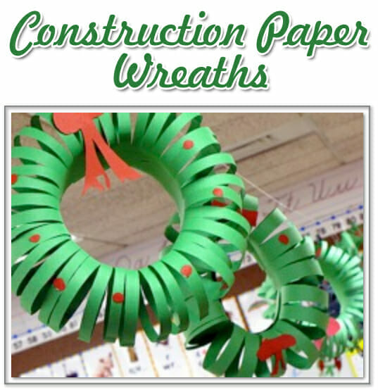 Christmas Wreath Craft - Teach Kids About Keeping Close To Christ!