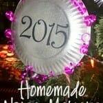 homemade noisemakers new years craft