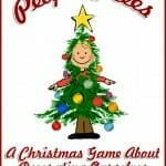 """People Trees"" Christmas Game"