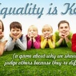 """Equality is Key"" (A Sunday School game about why we shouldn't judge others because they're different!)"