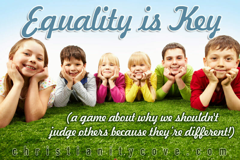 equality is key sunday school game 2