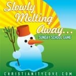 sunday school game slowly melting away