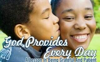 sunday school lesson god provides every day