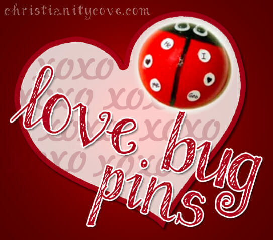 U201cLove Bug Pinsu201d Valentines Day Craft