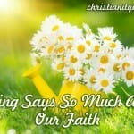 Spring Flowers Say So Much about Our Faith (Lesson & Flower Craft Ideas)