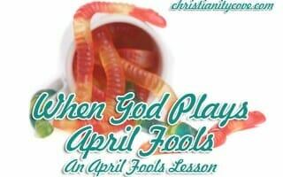 when god plays april fools