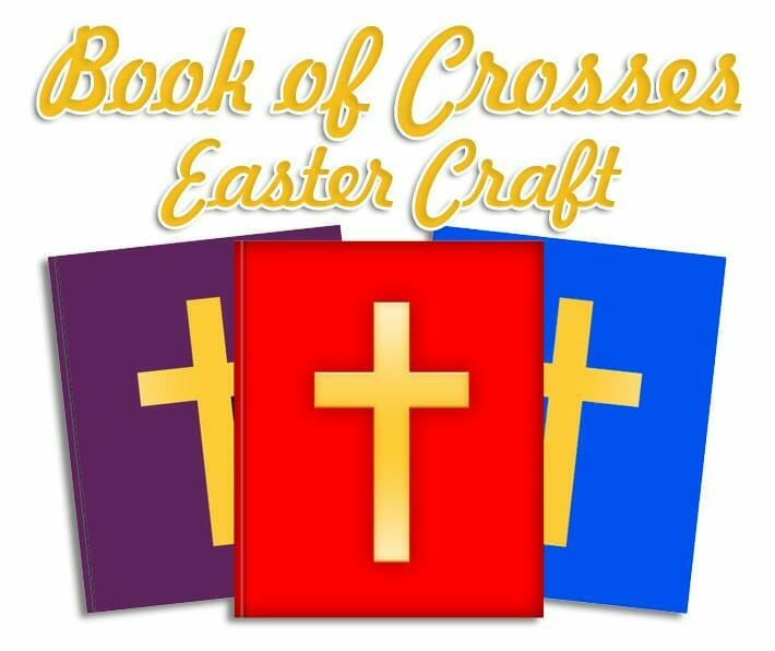 Book Of Crosses Easter Craft Christianity Cove