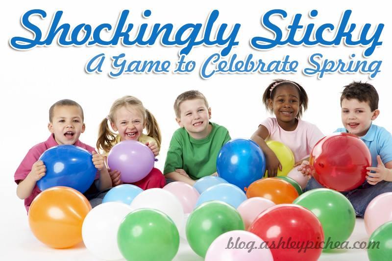 """Shockingly Sticky"" – A Bible Game to Celebrate Spring"