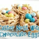 Easter Nest with Chocolate Eggs (Easter Snack)