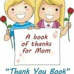 """Thank You Book"" Mother's Day Craft"
