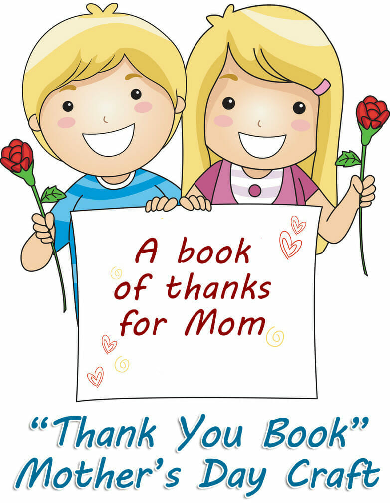 mothers day book of thanks