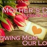 mothers day showing our love