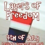 layers of freedom science experiment