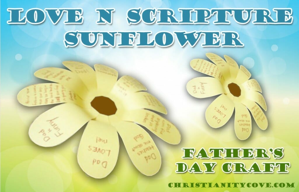 love n scripture fathers day craft 2