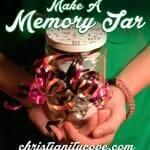"""Make A Memory Jar"" Kids Craft"