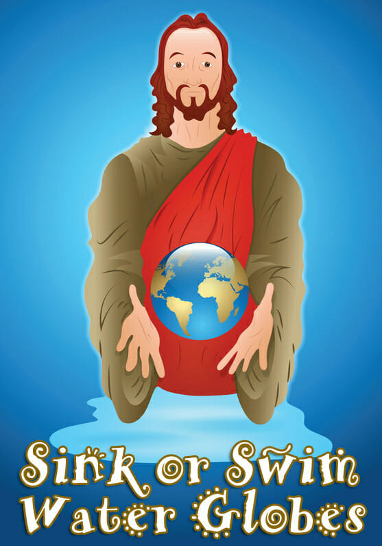Sink-or-Swim Water Globes Bible Craft